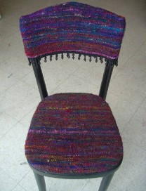 Woven Chair Cover
