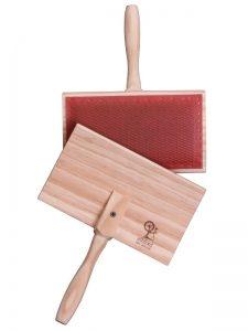 wooden wool carders