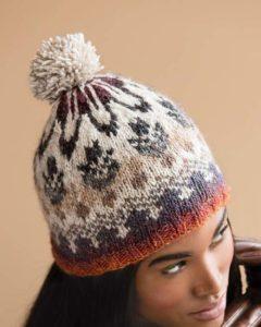 Ornate Fair Isles Hat