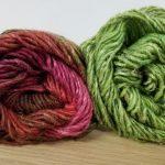 pink-green-combo silk garden